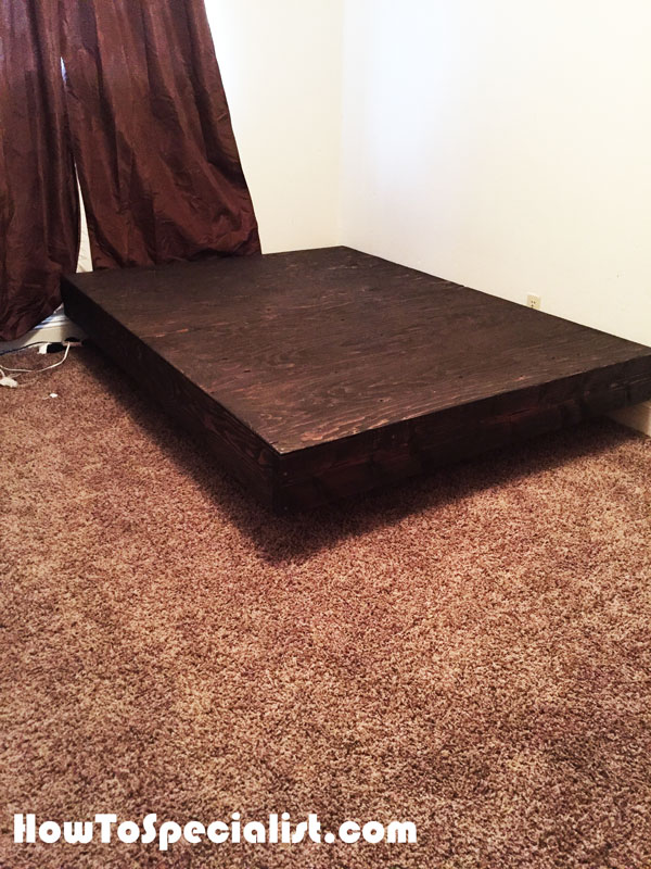 DIY Queen Size Floating Bed   HowToSpecialist - How to ...